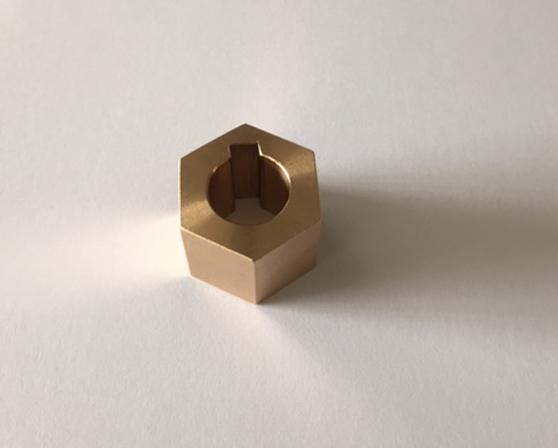 zeskant naaf